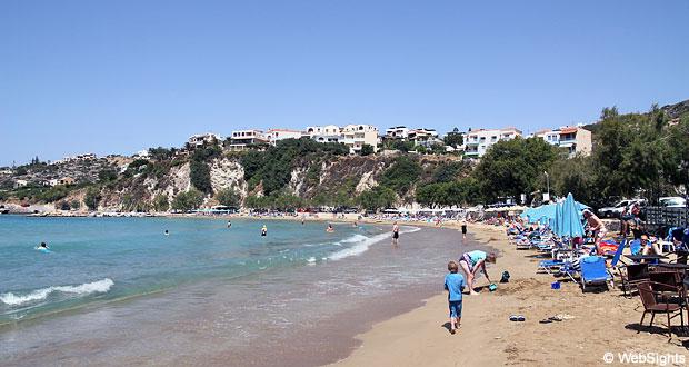Almyrida strand