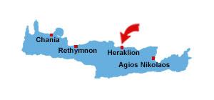Heraklion kort